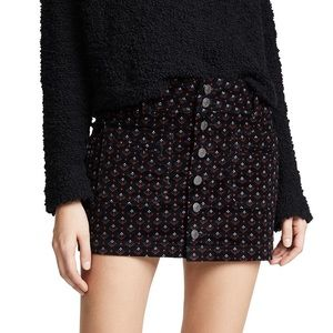 Free People Joanie Cord Skirt